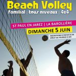 affiche tournoi volley st paul 2016